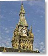 Stone Clock Tower Metal Print