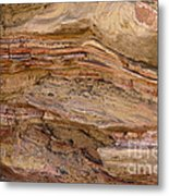 Stone Colors And Textures Metal Print
