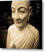 Stone Monk Metal Print