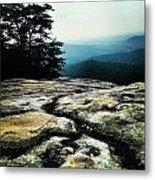 Stone Mountain Metal Print
