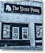 Stone Pony Cool Side View Metal Print