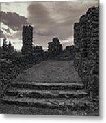 Stone Ruins At Old Liberty Park - Spokane Washington Metal Print