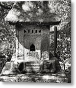 Stone Shrine Metal Print