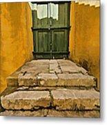 Stone Stair Entranceway  Metal Print