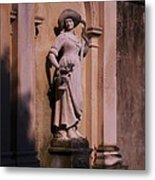 Stone Statue Woman  Metal Print