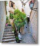Stone Streets Of Old Trogir Metal Print