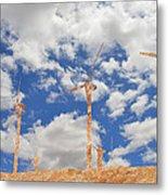 Stone Wind Mills Metal Print