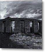 Stonehenge Of America Metal Print