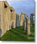 Stonehenge Stones Metal Print