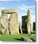 Stonehenge, Wiltshire, England, United Metal Print