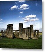 Stonehenged Again Metal Print