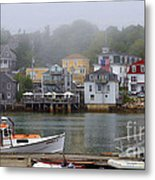 Stonington Harbor 2 Metal Print