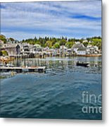 Stonington In Maine Metal Print