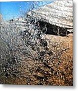 Stony Bush Abstract Metal Print