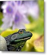 Stop And Smell The Hyacinths Metal Print