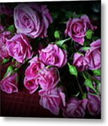 Stop And Smell The Roses Metal Print