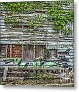 Stop The Decay Metal Print