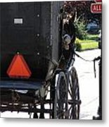 Stopped Buggy Metal Print