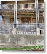 Stopping For A Bite To Eat On The Underground Railroad Metal Print