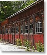Storage Building Metal Print