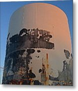Storage Container Moon Coolidge Arizona 2004 Metal Print