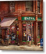 Store - Albany Ny -  The Bayou Metal Print by Mike Savad