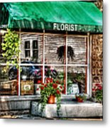 Store - Florist Metal Print