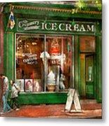 Store Front - Alexandria Va - The Creamery Metal Print