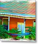 Store Front On Main - II Metal Print