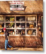 Store -  The Thrift Shop Metal Print