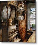 Store - Turn Of The Century Soda Fountain Metal Print