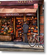Store - Wine - Ny - Chelsea - Wines And Spirits Est 1934  Metal Print by Mike Savad
