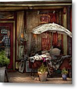 Storefront - Frenchtown Nj - The Boutique Metal Print