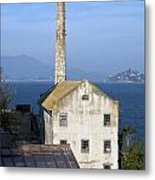 Storehouse Alcatraz Island San Francisco Metal Print