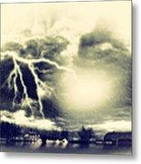 Storm And Flood Metal Print