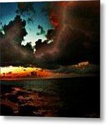 Storm At Sundown  Metal Print