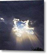Storm Break Metal Print