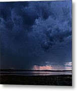 Storm Cell Over Lubec Maine Metal Print
