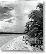 Storm Cloud On The Horizon Metal Print by John Rizzuto