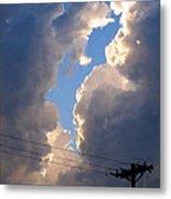 Storm Clouds 4 Metal Print