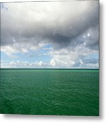 Storm Clouds Gathering Metal Print