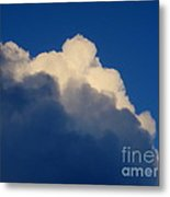 Storm Clouds In The Evening Metal Print