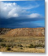 Storm Clouds Over Central Wyoming Metal Print