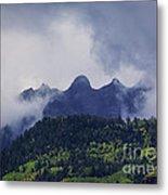 Storm In The San Juan Mountains Metal Print