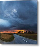Storm Is Coming Metal Print