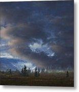 Storm Light Metal Print
