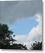 Storm Moving In Metal Print