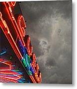 Storm Over Augusta Metal Print