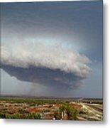 Storm Over Badlands 2am-115139 Metal Print