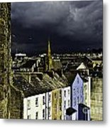 Storm Over Conwy Metal Print